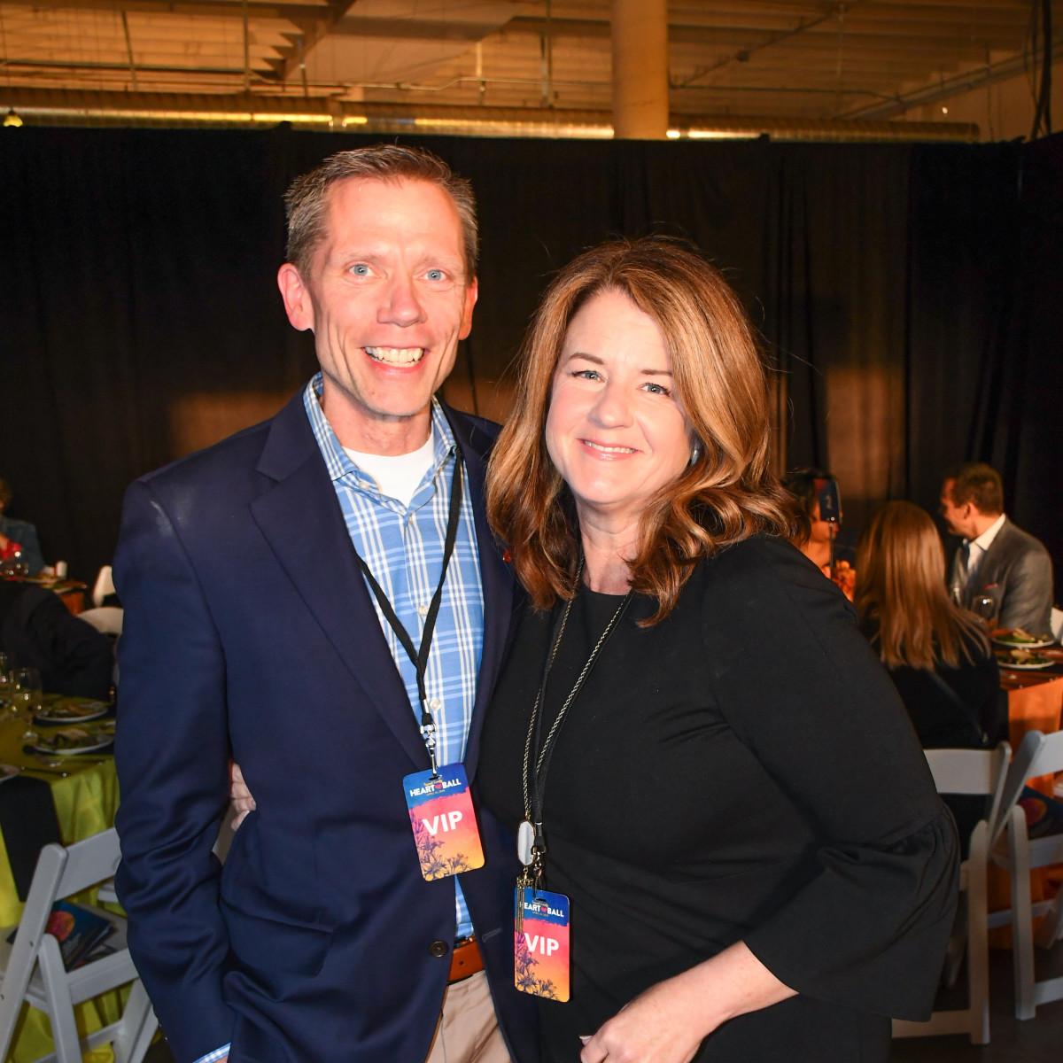 Mark and Julie Schulze, Tarrant Heart Ball