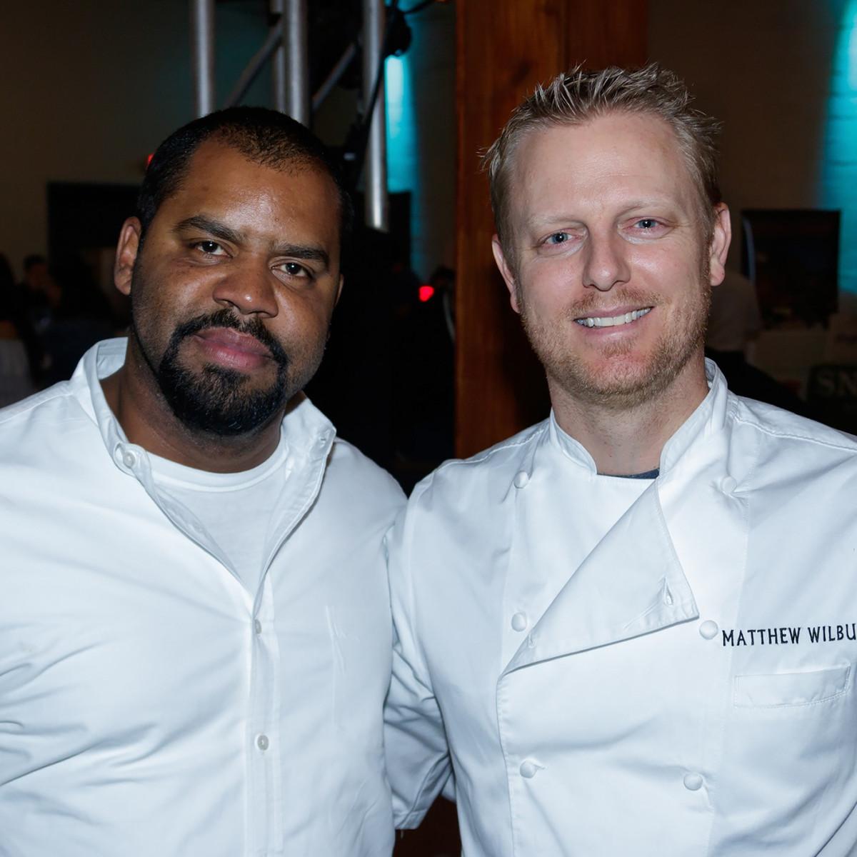 Dallas Tastemaker Awards 2018, Junior Borges, Matthew Wilbur