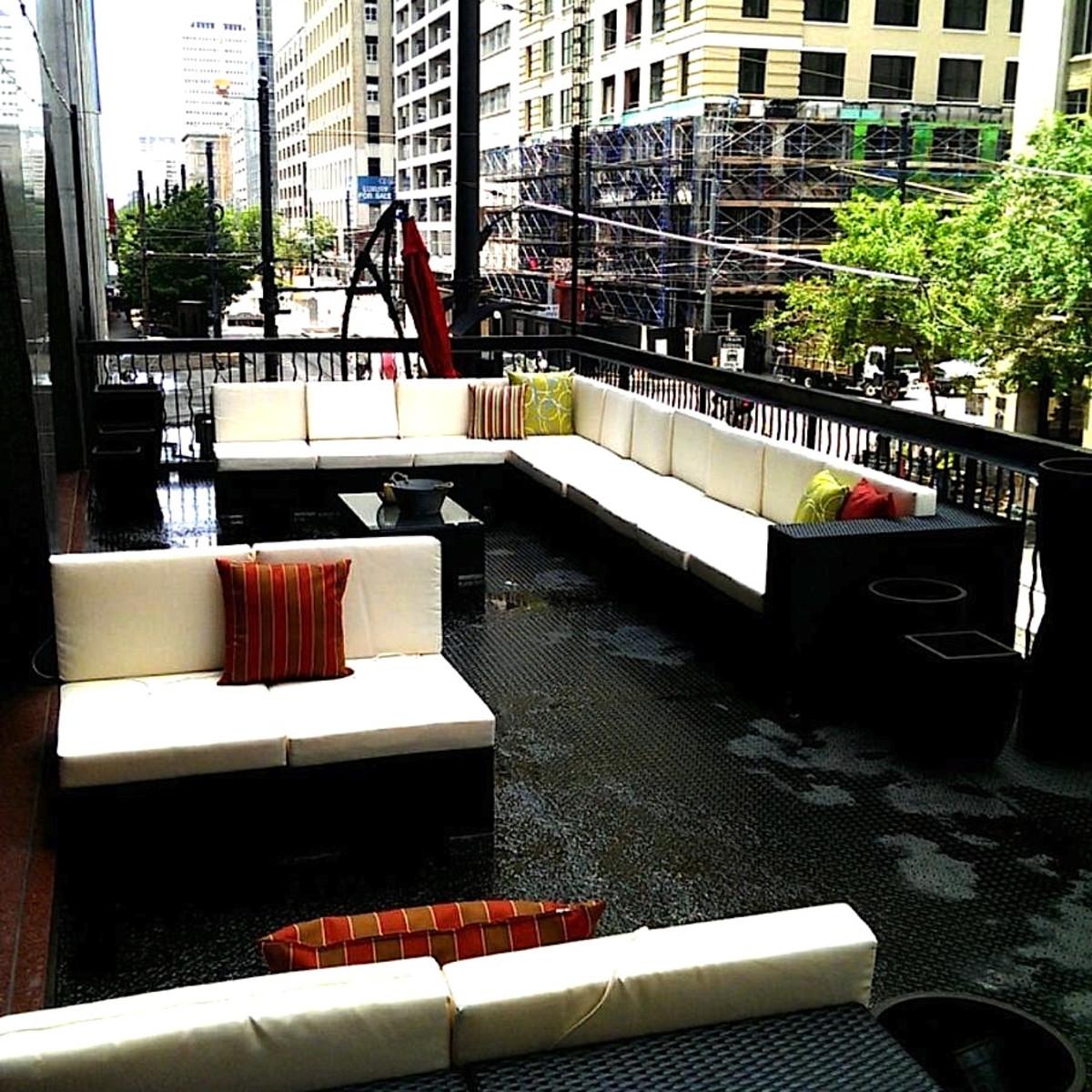 Springbok patio