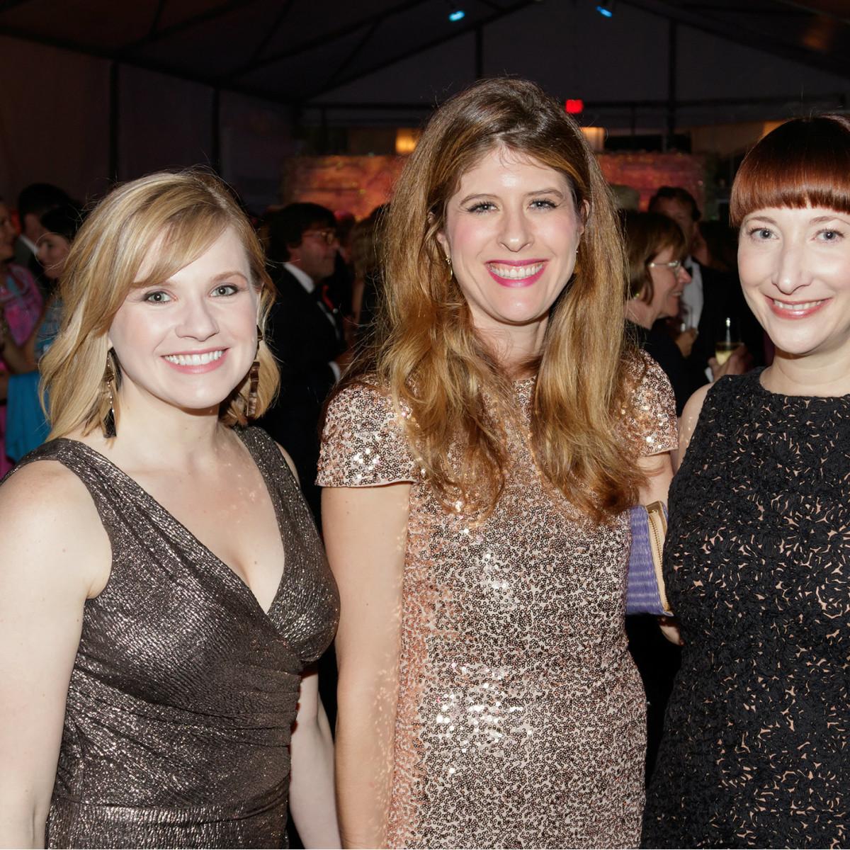 Aubrey DeZego, Katherine Brodbeck, Nicole Myers