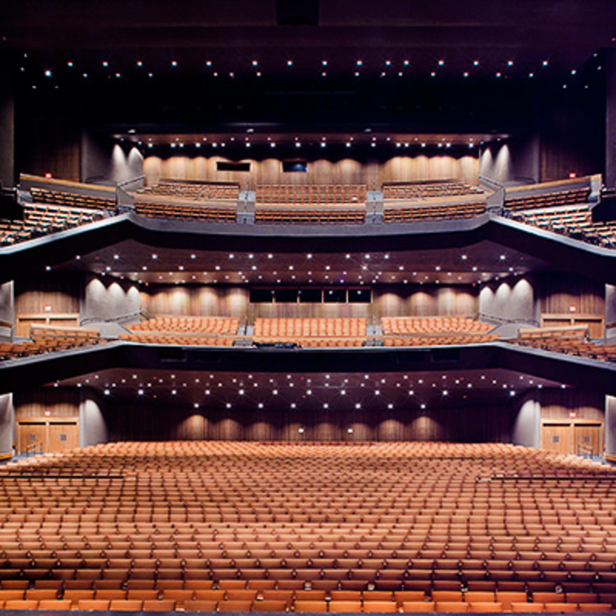 Austin Photo: Places_Arts_Bass_Concert_Hall_Interior
