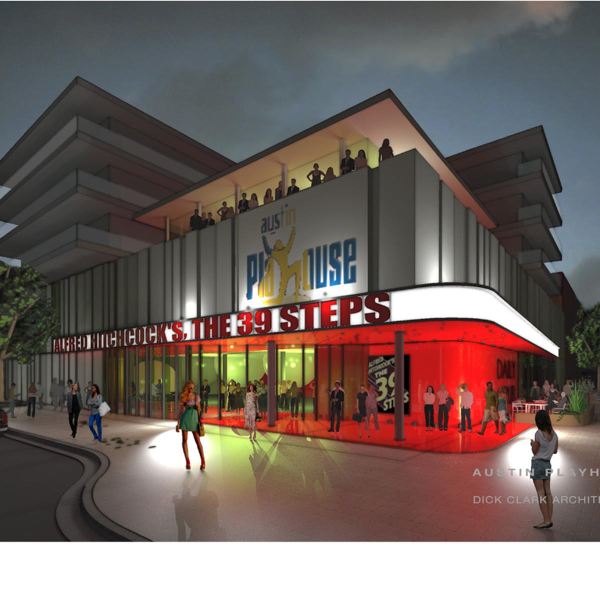 Austin Photo: Places_Arts_Austin_Playhouse_New_Building