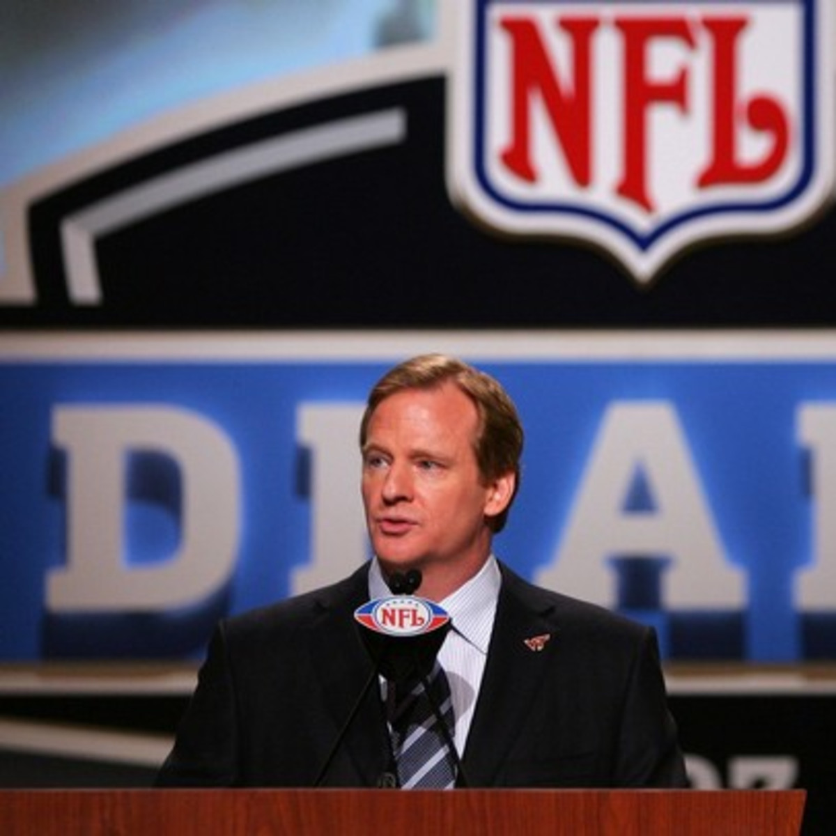 NFL Draft Roger Goodell