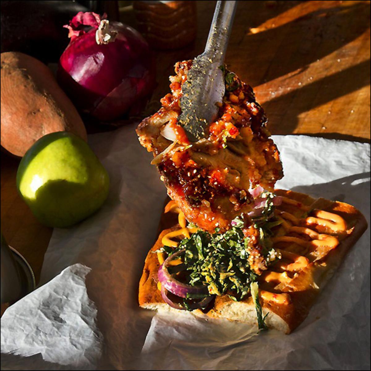 Austin Photo: Places_Food_lukes_inside_out_sandwich