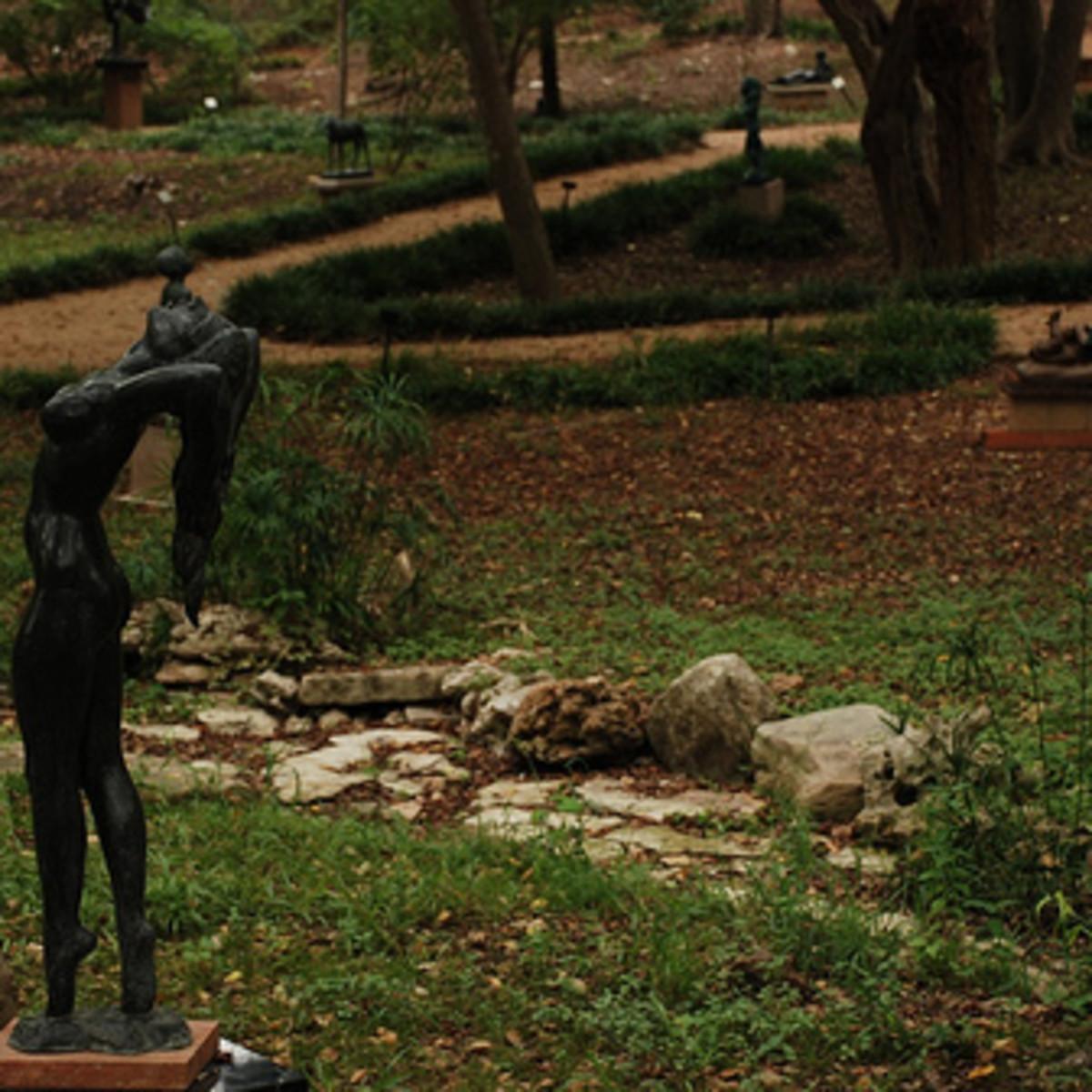 Austin Photo: Places_Arts_Umlauf_Sculpture_Garden