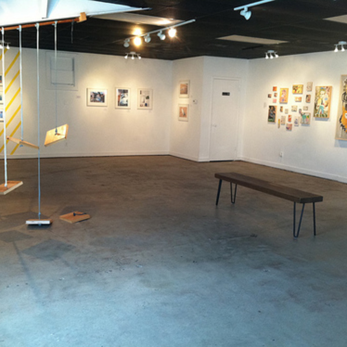 Austin photo: Places_Arts_Gallery_Black_Lagoon_Exhibit