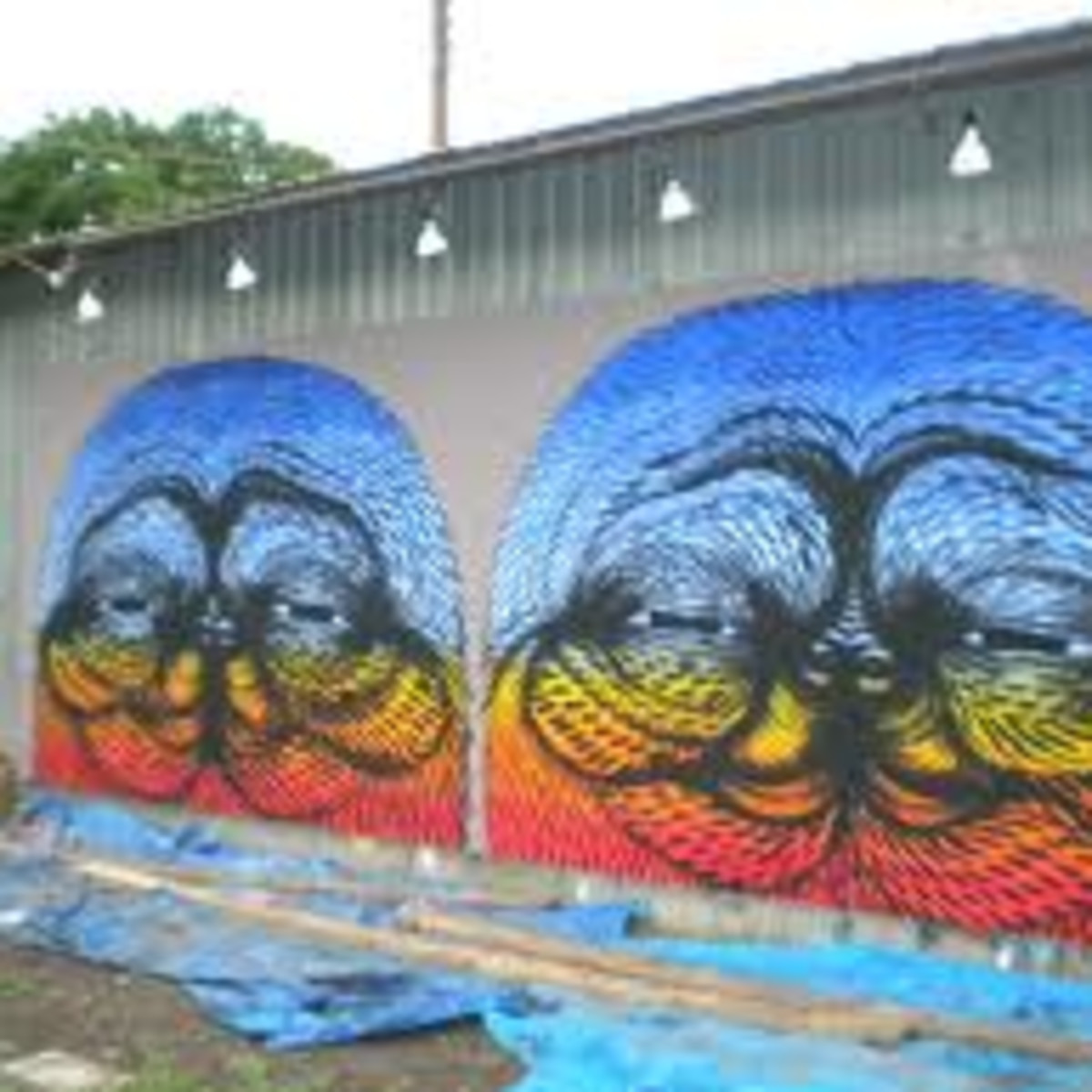 Austin photo: Places_Arts_CoLab_Space_Mural
