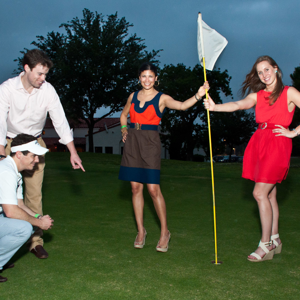 News_Gophers on the Green_May 2011_Chris Bradshaw_Chris Transier_Kristy Bradshaw_Christine Transier