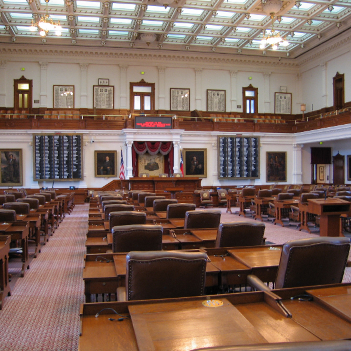 Austin Photo: Places_unique_austin_texas_state_capitol_chamber