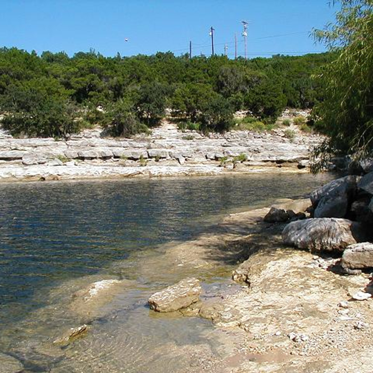 Austin photo: Places_Outdoors_Hippie Hollow_Beach