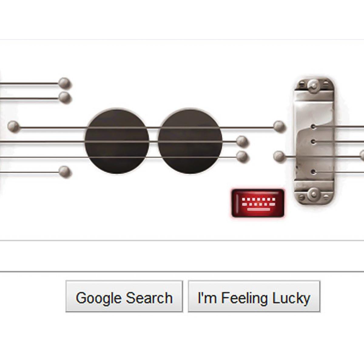 News_Les Paul_Google doodle