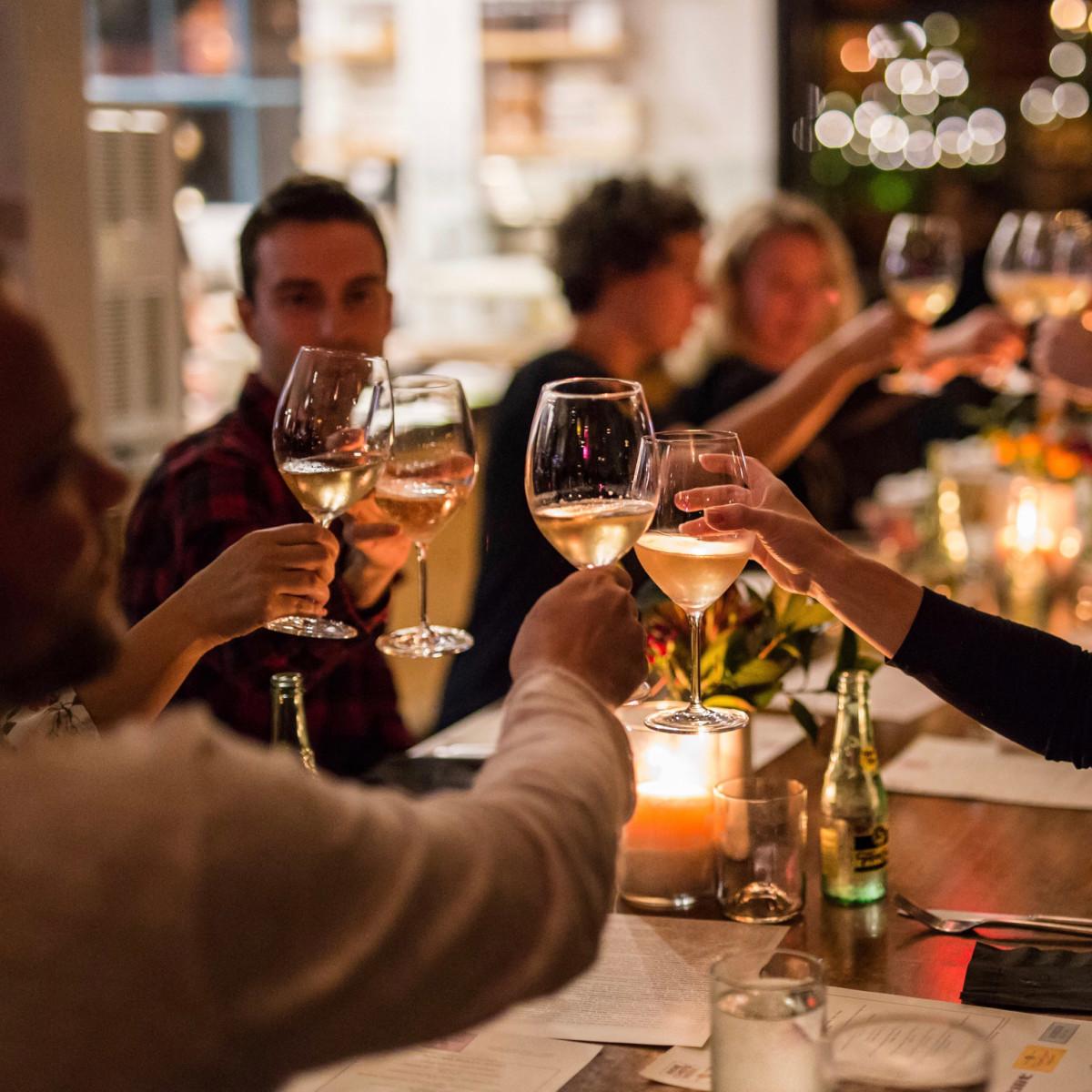 Indie Chefs week wine cheers