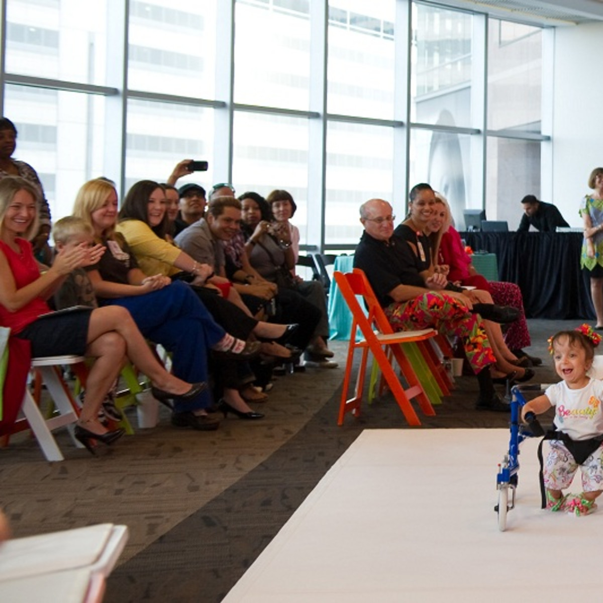 Bad Pants Fashion Show, Nalah Best, Jill Bendixen, Texas Children's Hospital, 2012