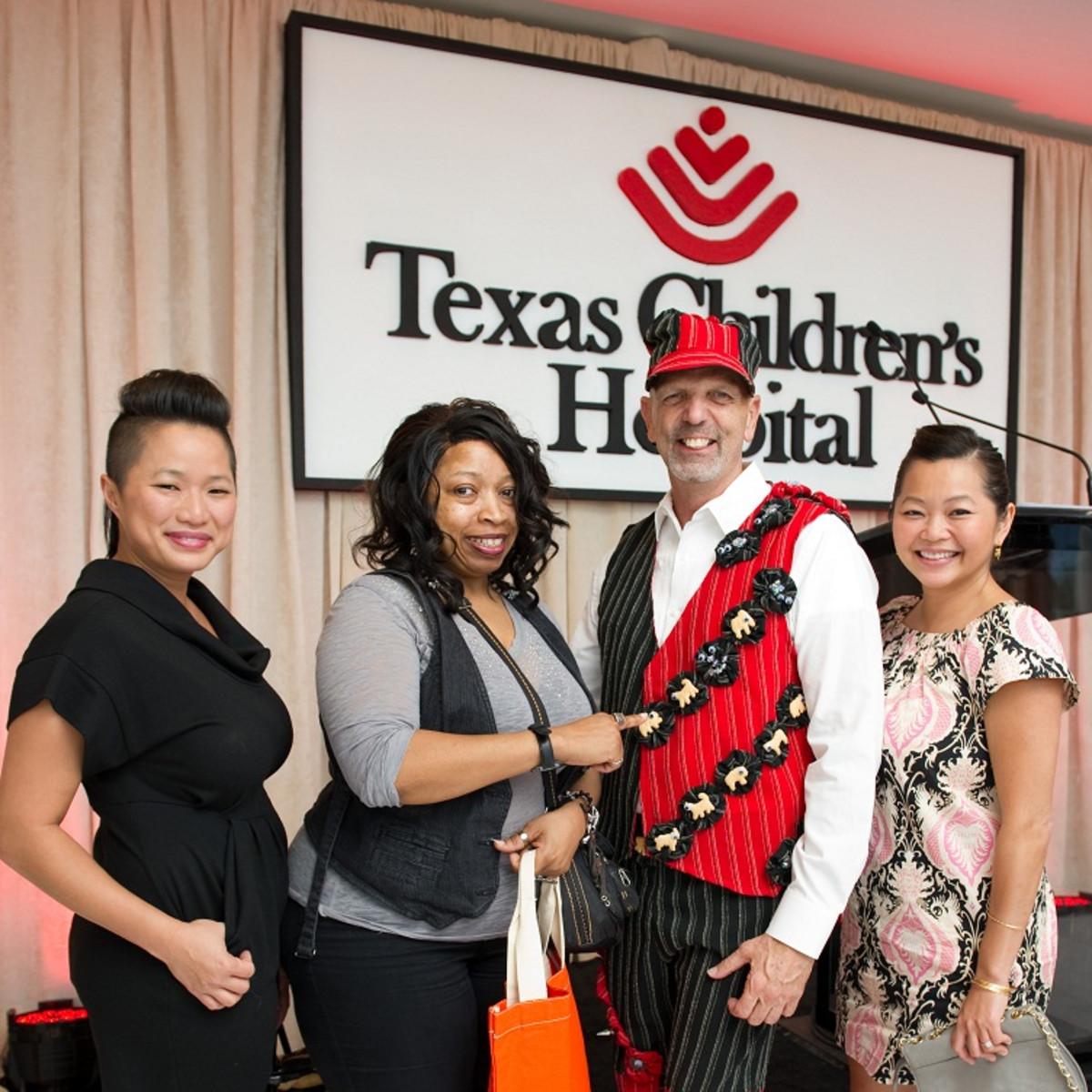 Bad Pants Fashion Show, Syndey Dao, Carolyn Gotcher, Clifford Pugh, Chloe Dao, Texas Children's Hospital, 2012