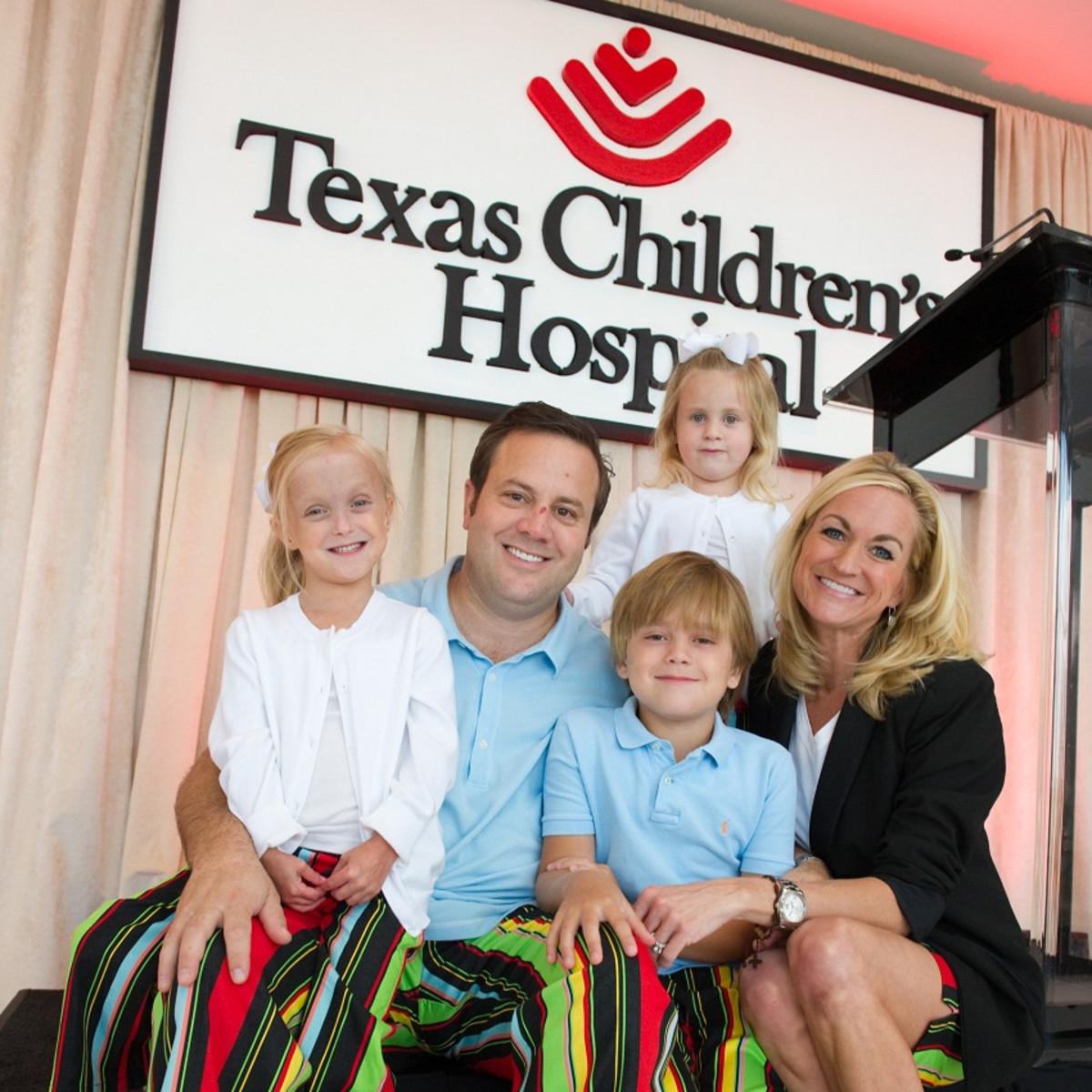 Levi Goode, Kelley Goode, Reese Goode, Mason Goode, Vivian Goode, Texas Children's Hospital, Bad Pants Fashion Show