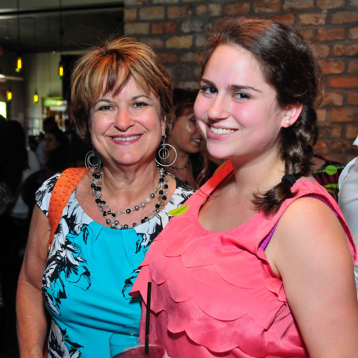 Back to School with SEARCH closing party August 2013 Belinda Denn, Lila Channin