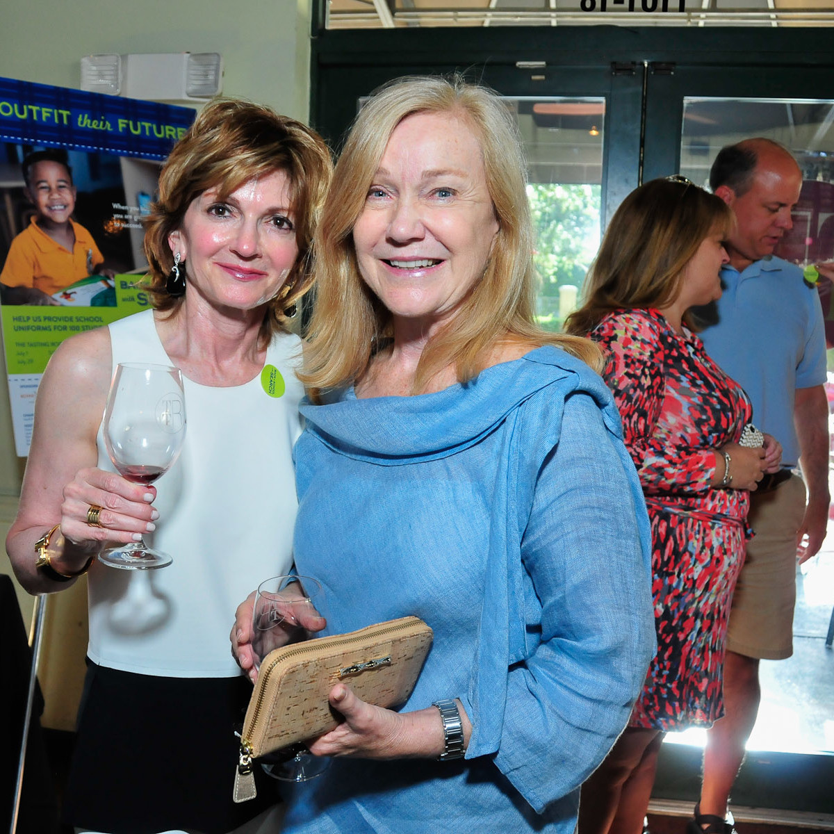 Back to School with SEARCH closing party August 2013 Toni Miller, Mary Lynne Randle