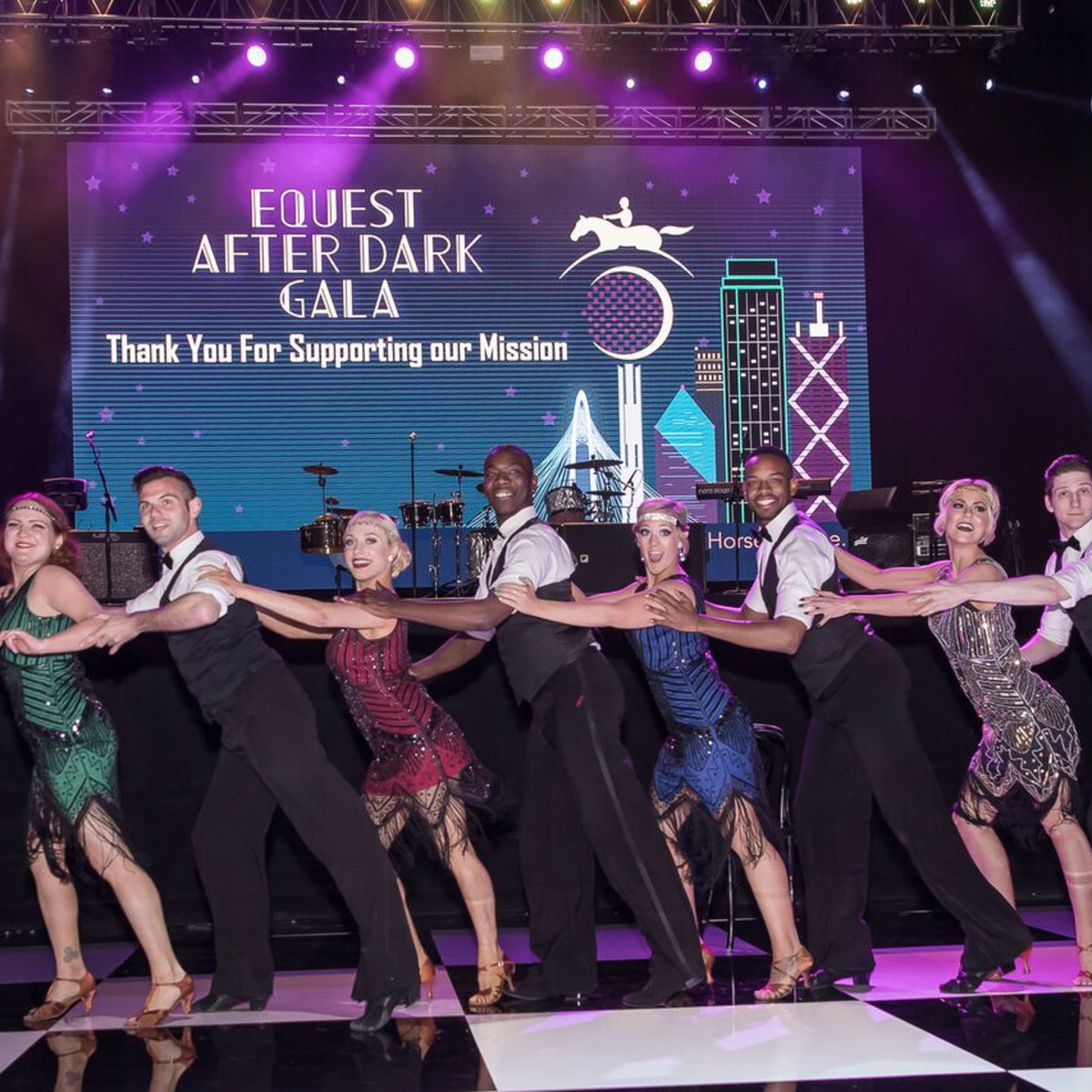 Equest After Dark Gala 2018,Arthur Murray Dancers
