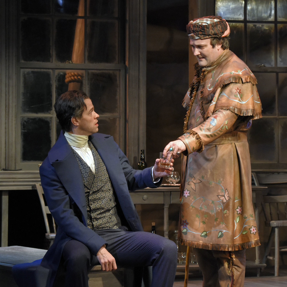 Alex Organ and Steven Michael Walters in The Trials of Sam Houston