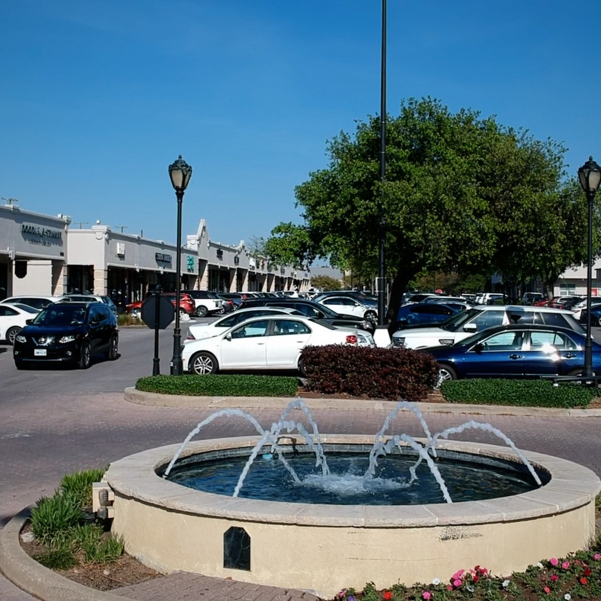 Inwood Village shopping center in Dallas