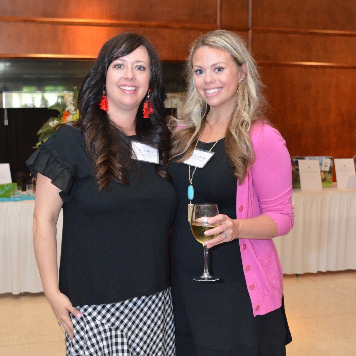 It's in the Bag luncheon 2018, Julie Bullion, Lauren Brady