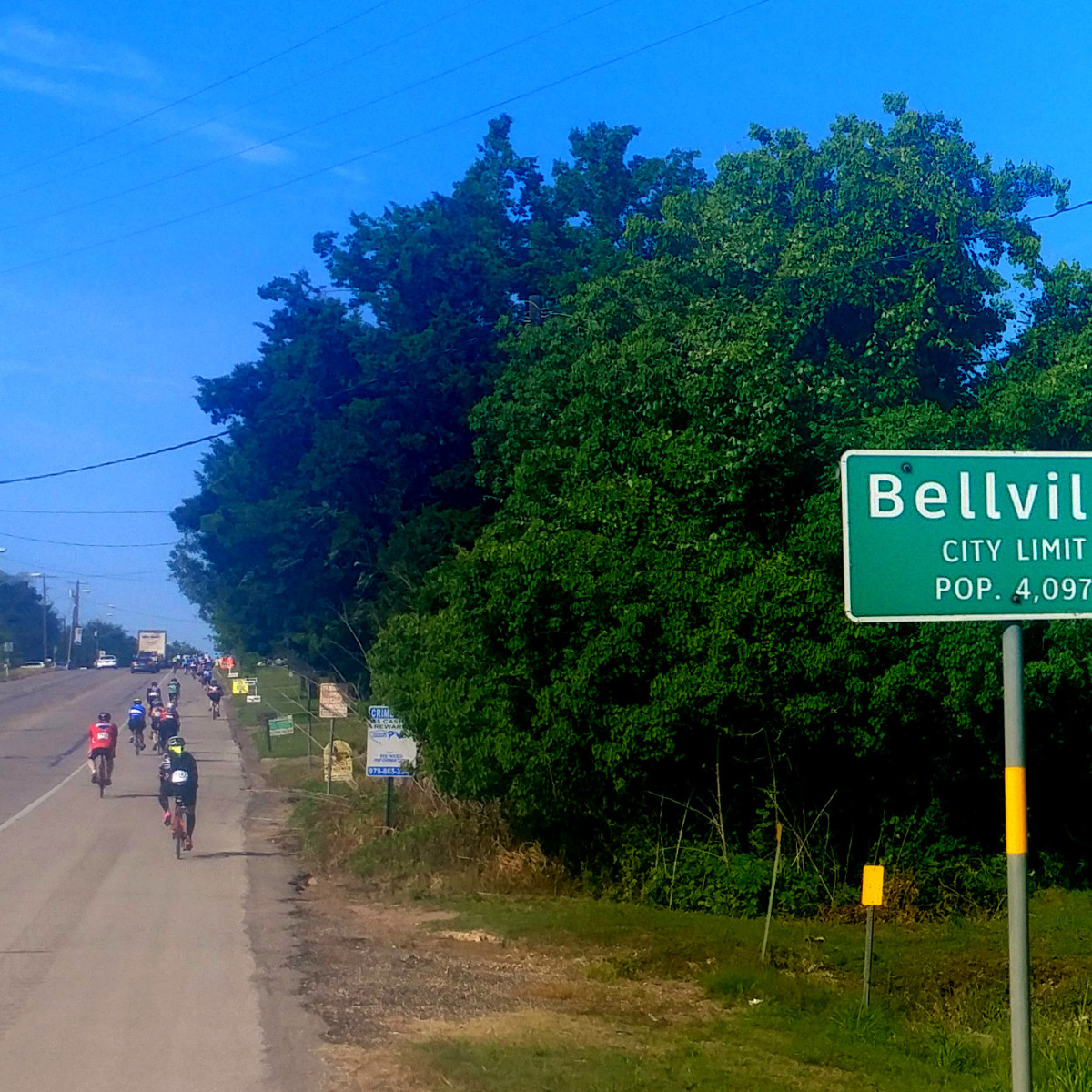 Hoffman BP MS150 Belville sign bikes