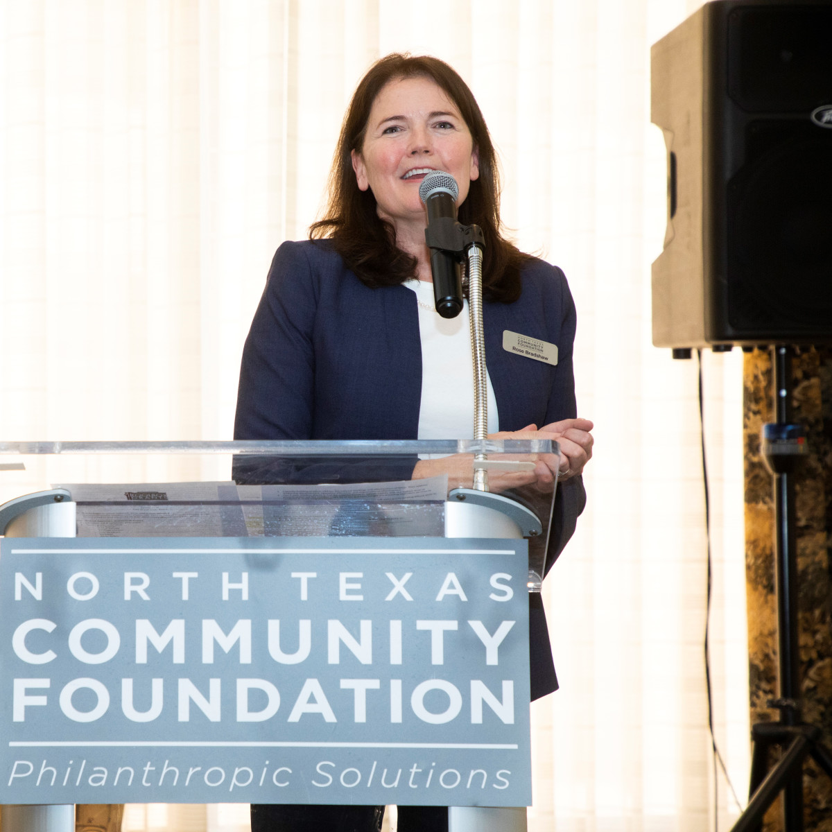 North Texas Community Foundation, Rose Bradshaw