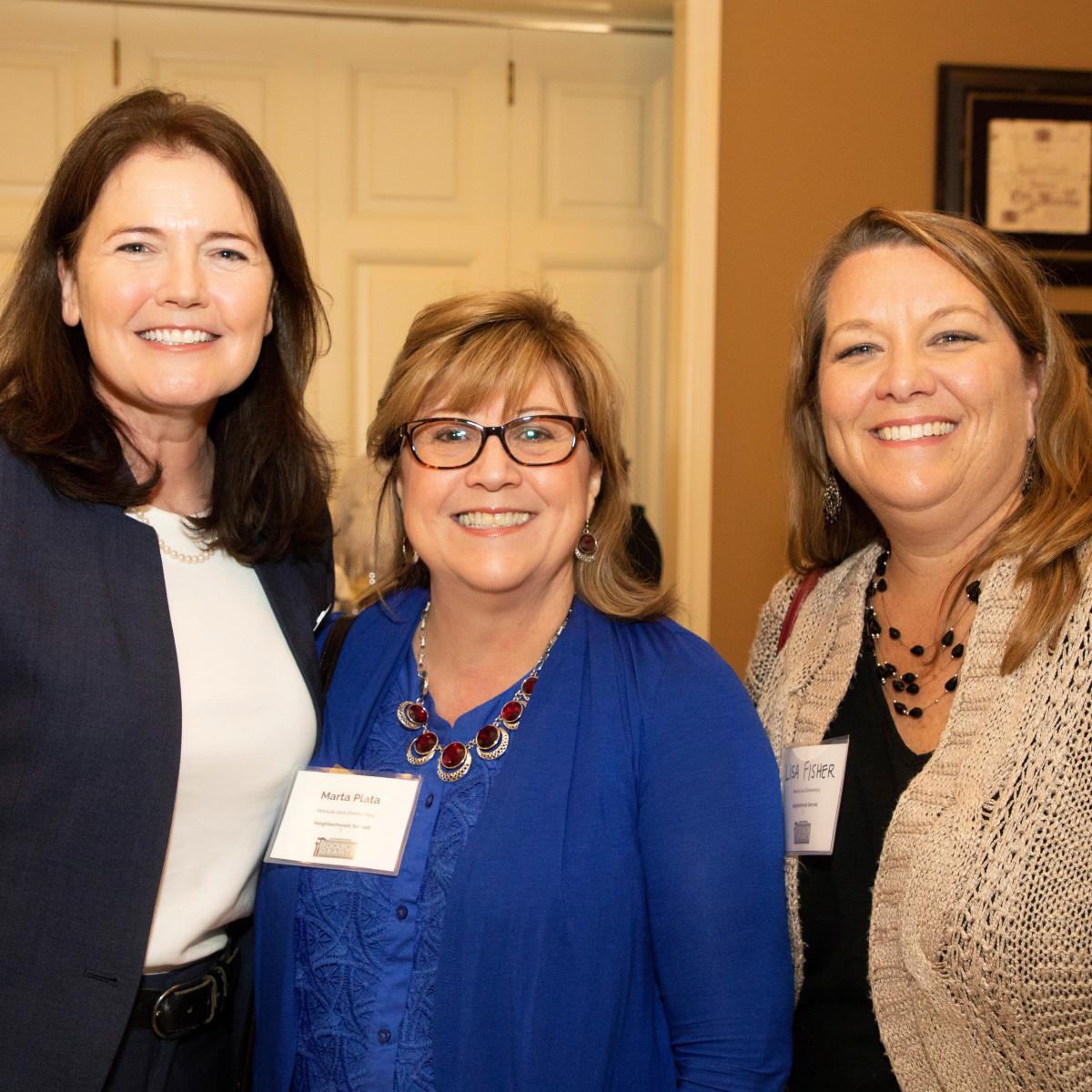North Texas Community Foundation, Rose Bradshaw, Marta Plata, Lisa Fischer