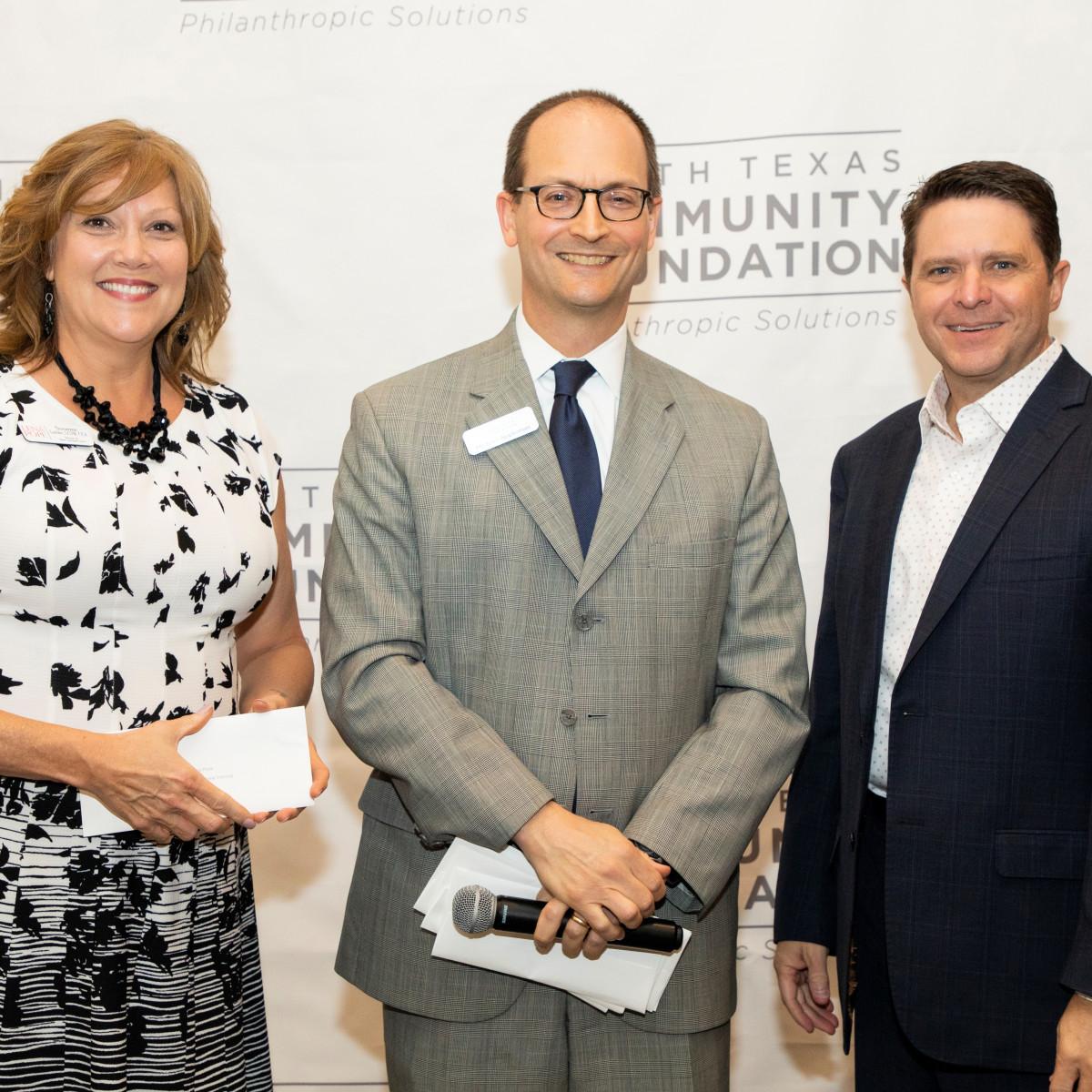 North Texas Community Foundation, Susanne Luebke, Michael Appleman, Todd Landry