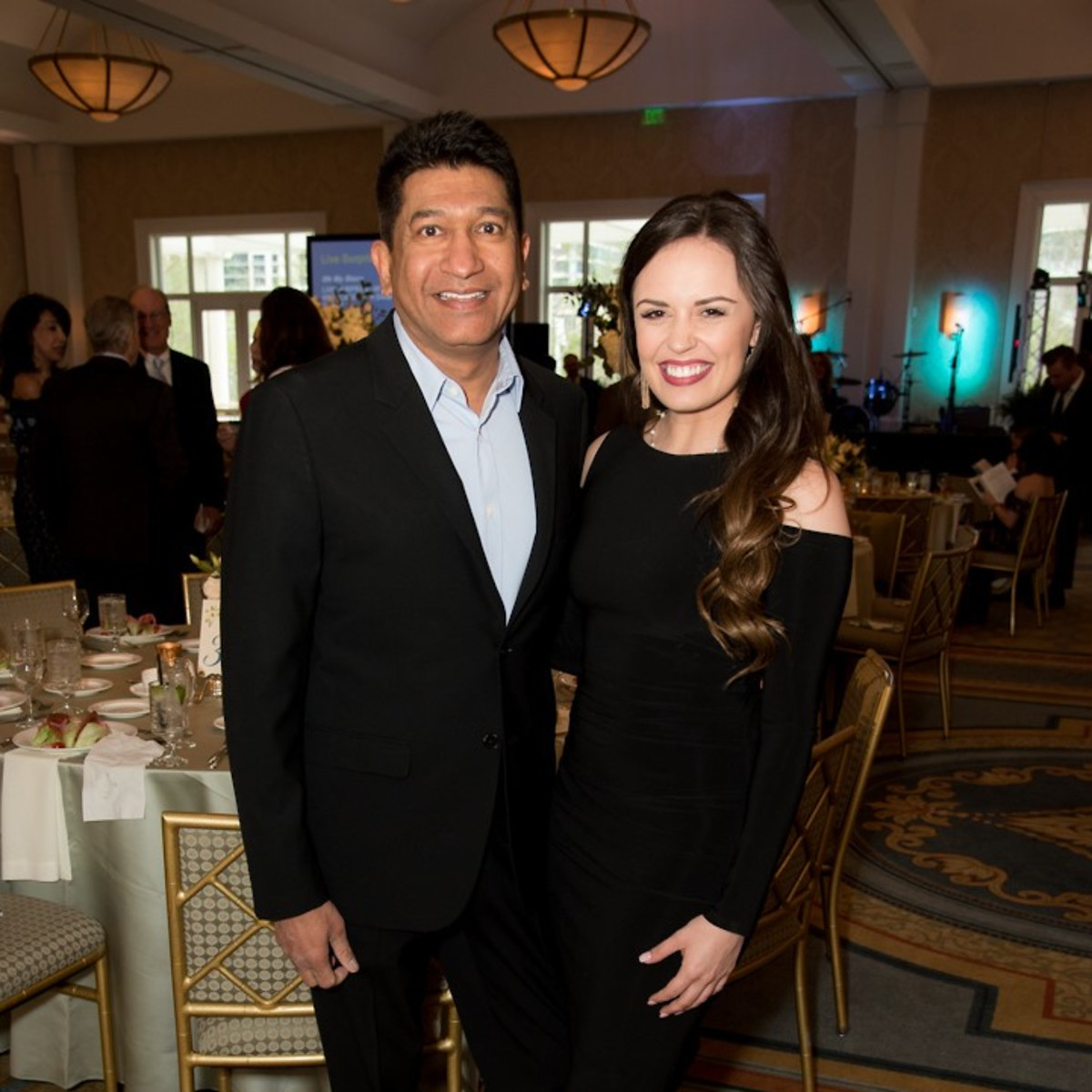 Ronald McDonald gala, Sheldon Arora and Morgan Miller