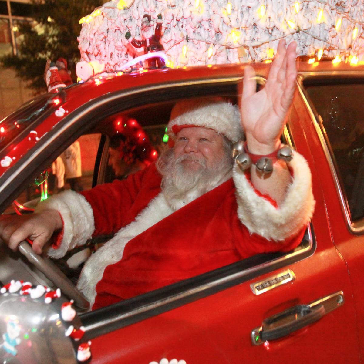 News_Gloworama 2009_Santa Claus