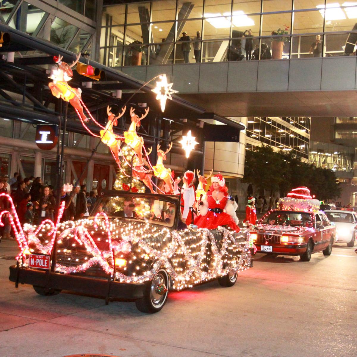 News_Gloworama 2009_reindeer car