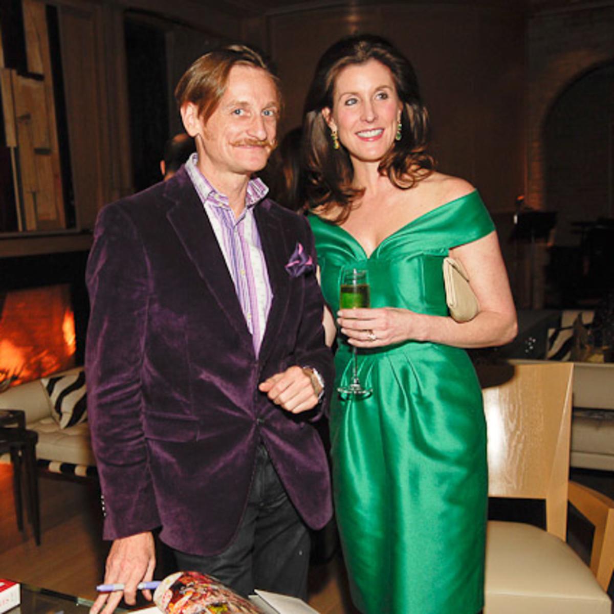 News_Vogue at Becca_Feb. 2010_Hamish Bowles_Phoebe Tudor