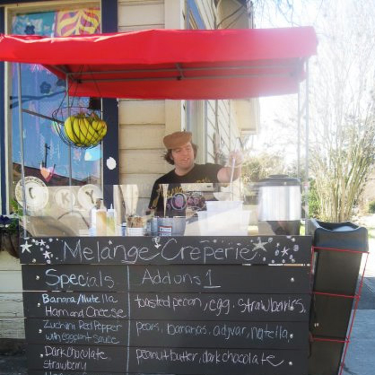 "News_Restaurant Roundup_March 2010_Melange Creperie_""Buffalo"" Sean Morrissey Carroll_by Tish Ochoa"