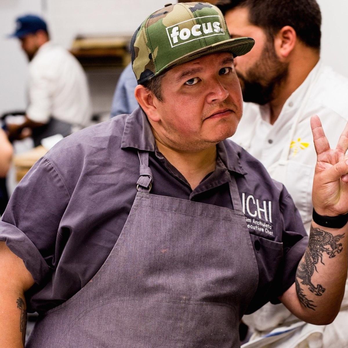 Tim Archuletta Indie Chefs Week