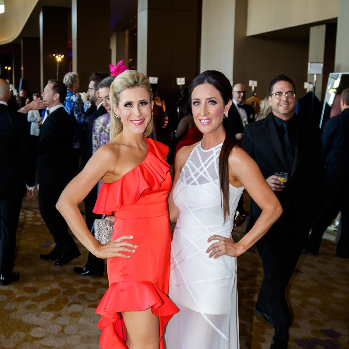 Stephanie McElroy, Megan Bennett at House of DIFFA 2018