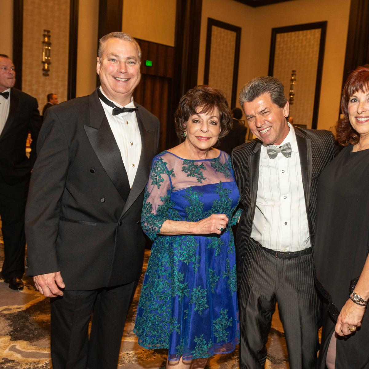 Virtuoso of Houston Gala James Parr, Judy Nichols, Don Murphy Sara Parr