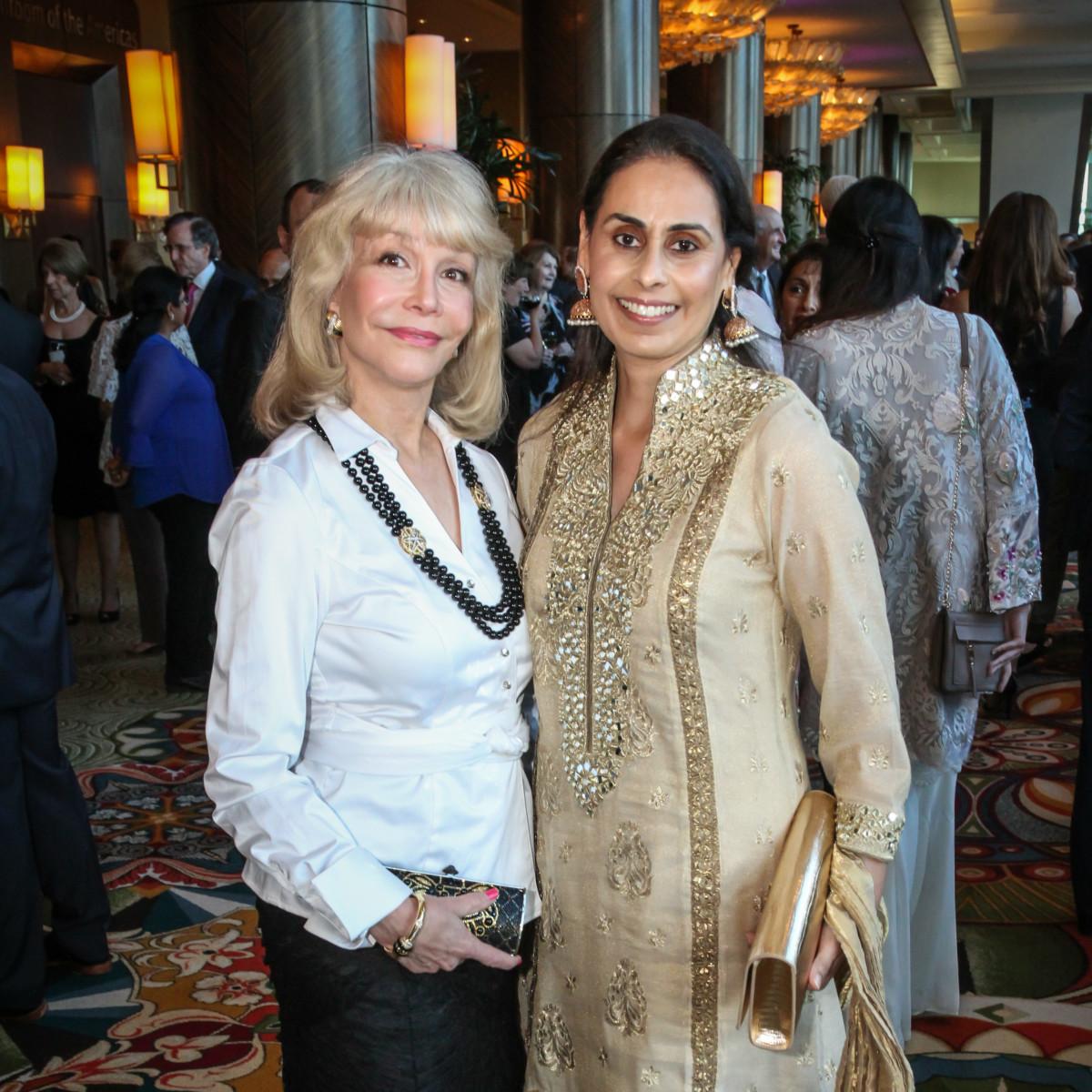 Interfaith Gala Susan Boggio Tehmina Masud