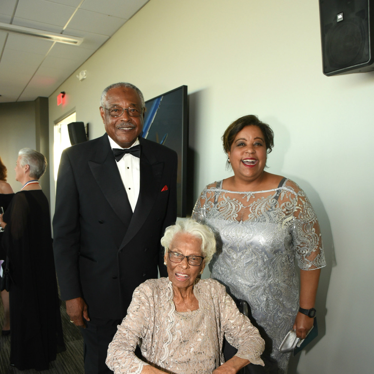 Flight Museum Gala Anthony Hall Ursula Hall Azellia White