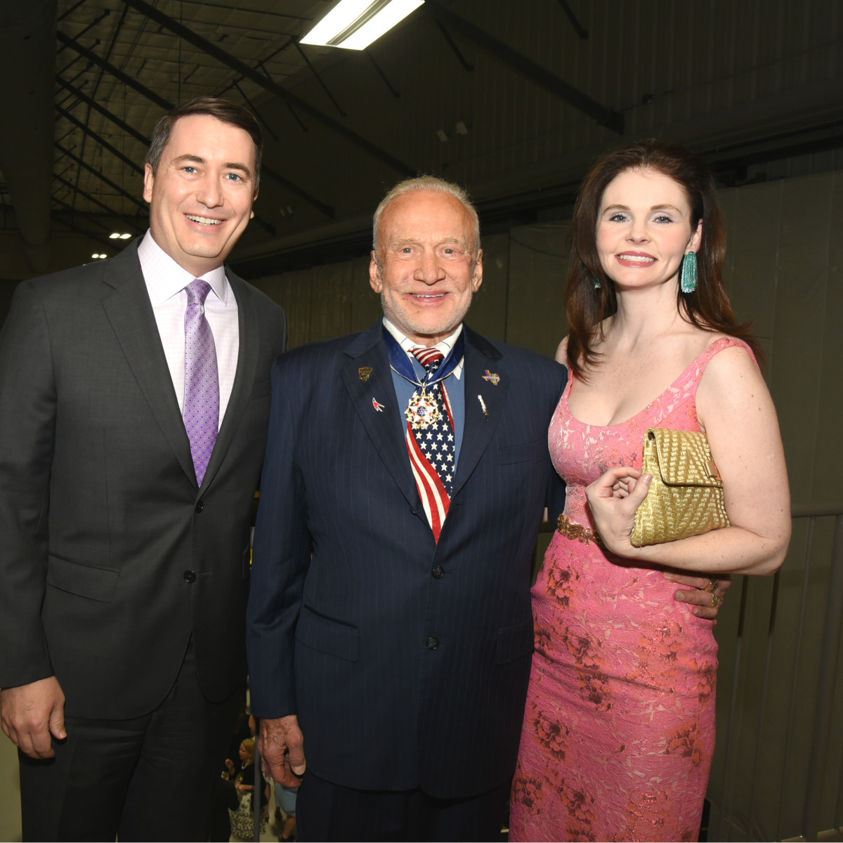 Flight Museum Gala Brannon Fitch Buzz Aldrin Charissa Fitch