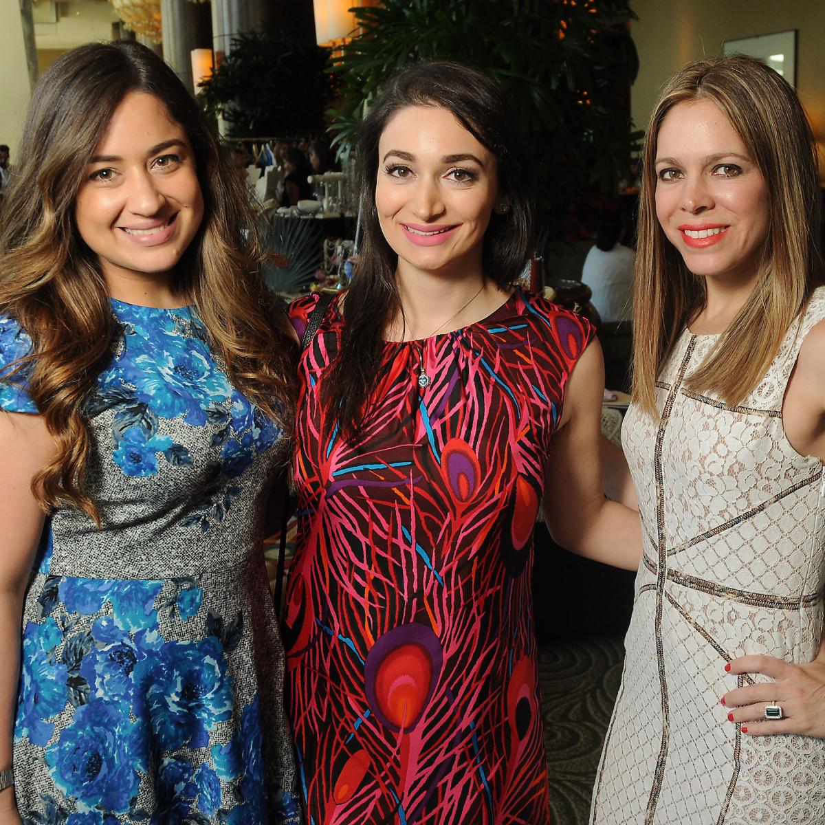 Neyda Cruz, Summer Salameh and Kariliz Perez