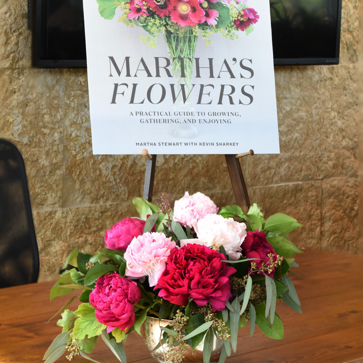 Martha Stewart event at Dallas Arboretum 2018