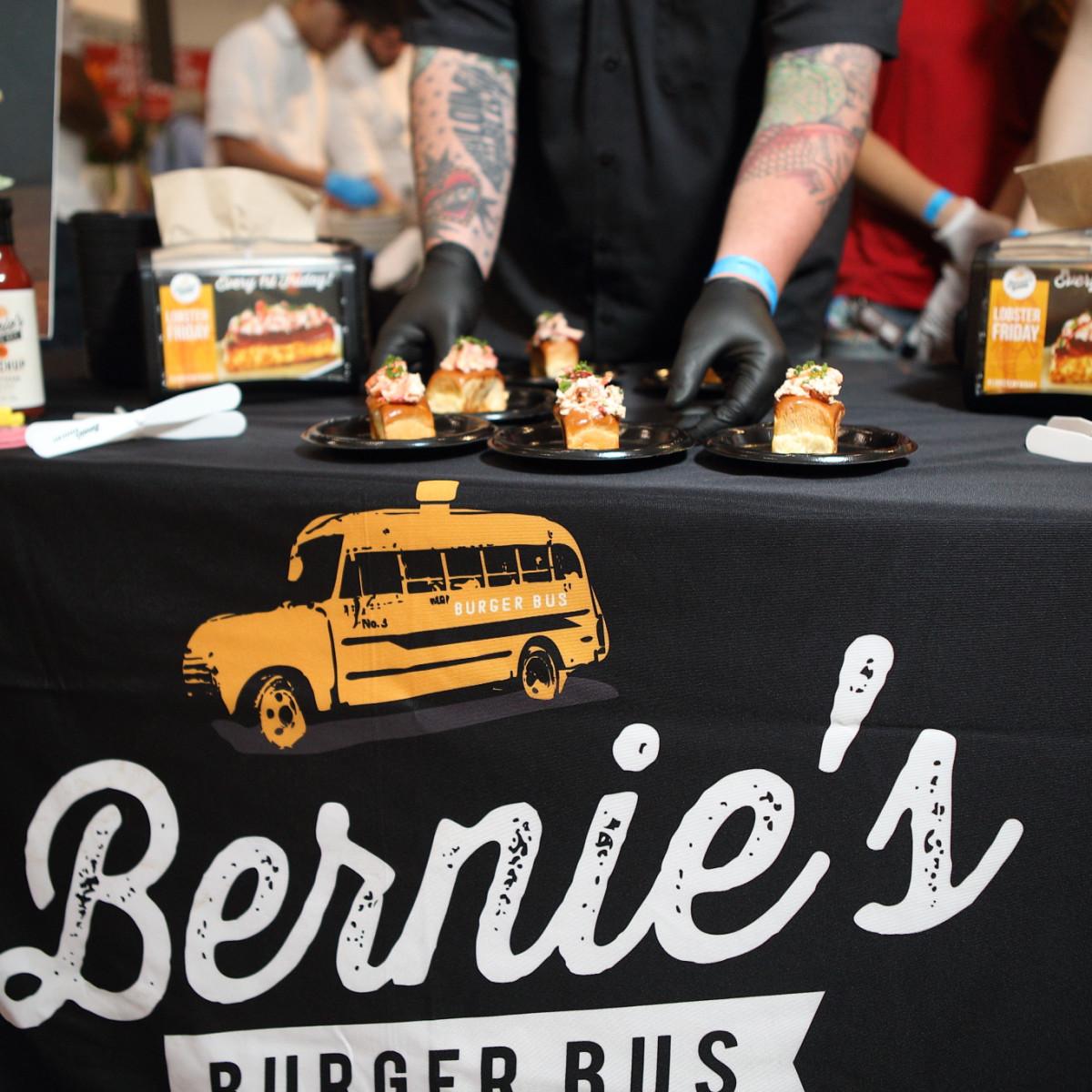 Taste of the Nation Bernie's Burger Bus lobster rolls
