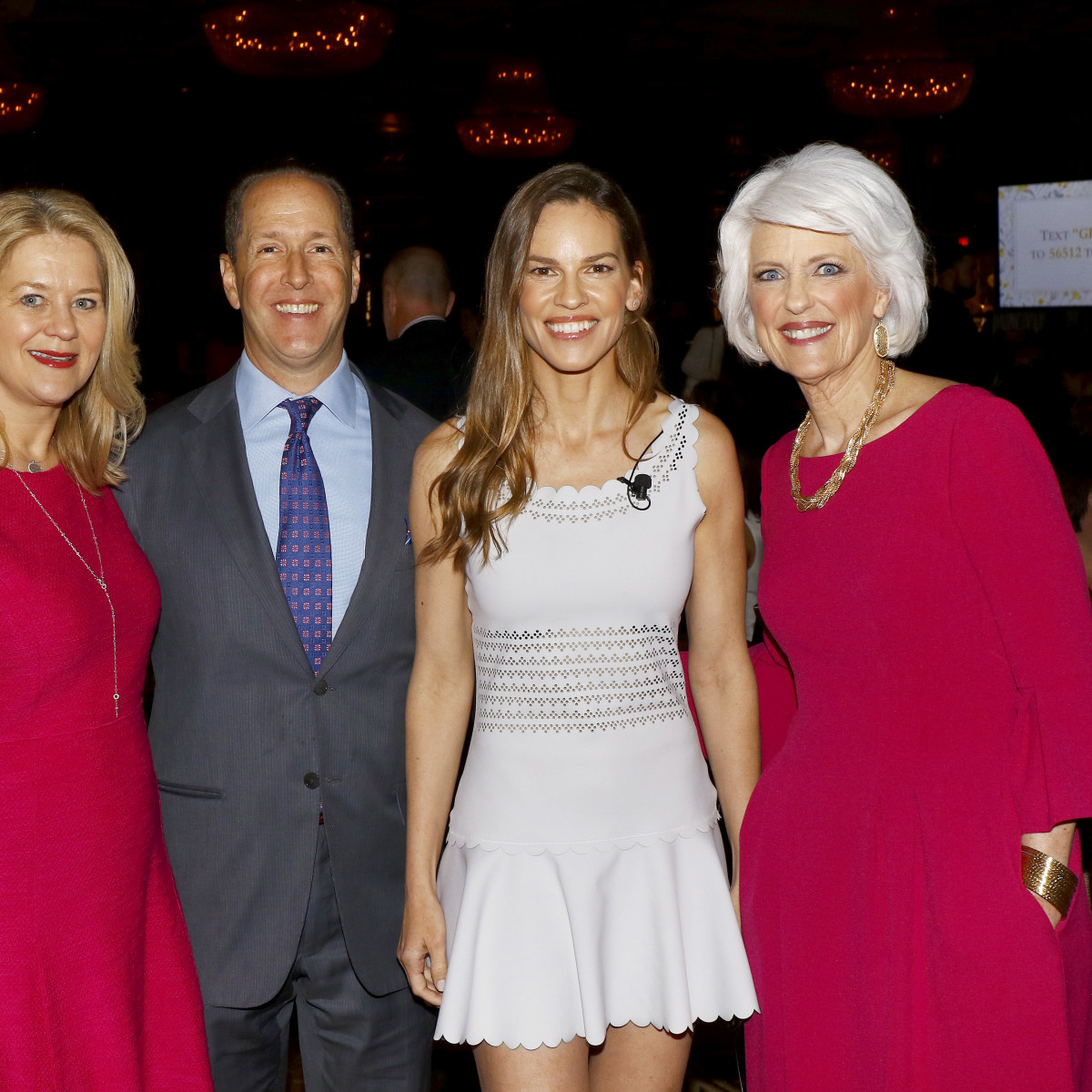 Jane Hurst, Michael Hurst, Hilary Swank, Jan Langbein