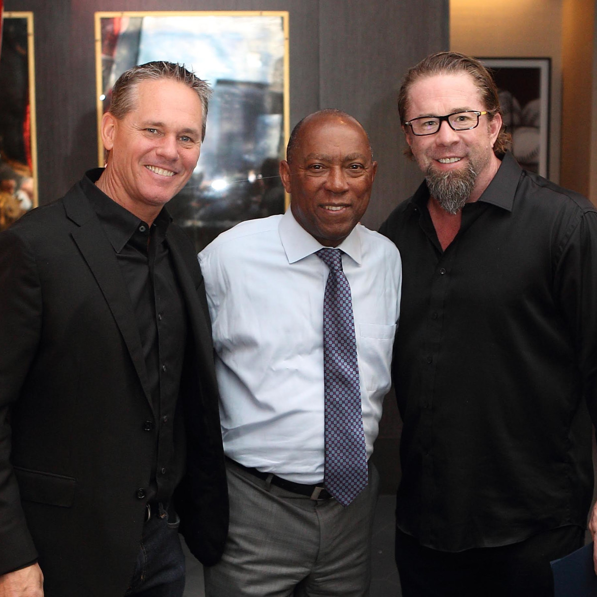 Jeff Bagwell 50th birthday Potente Craig Biggio, Sylvester Turner, Jeff Bagwell