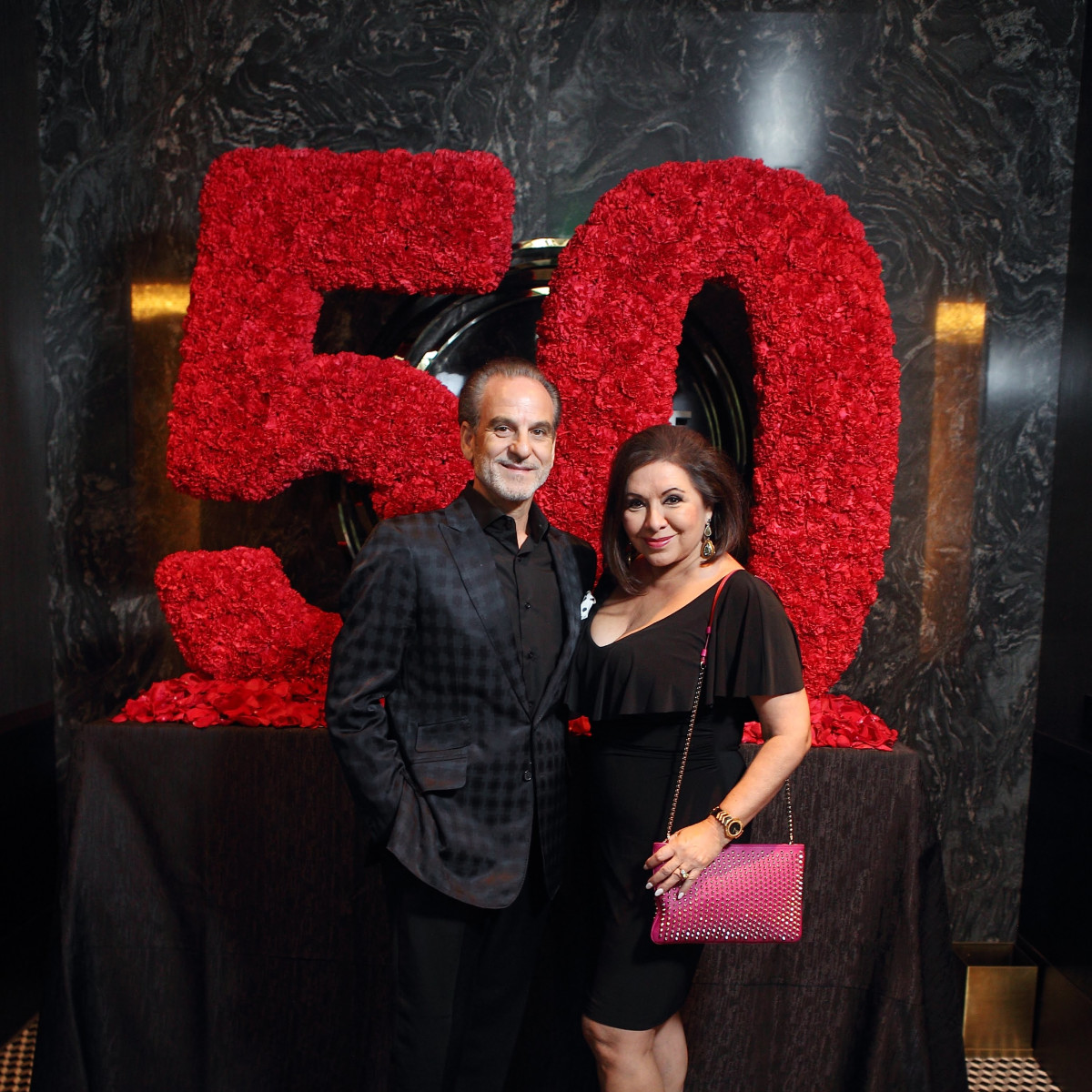 Jeff Bagwell 50th birthday Potente Rudy and Debbie Festari