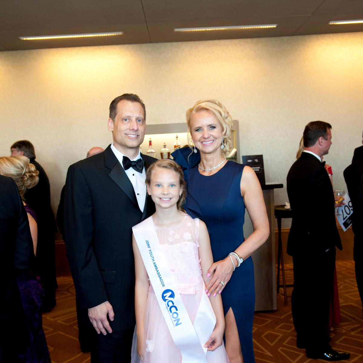 Scott Paul, Zara Paul and Elle Paul