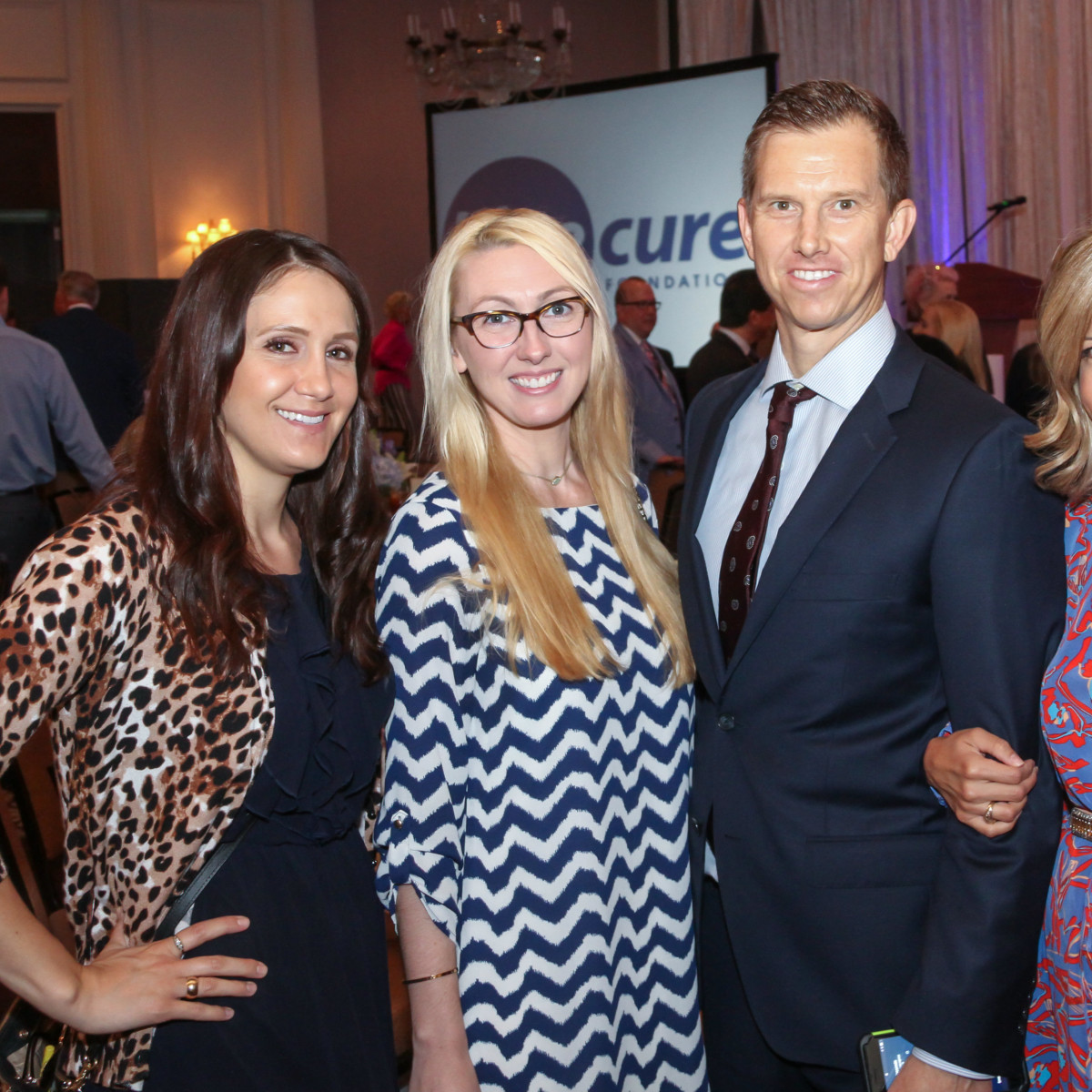 Blue Cure Whitney Fisher, Alisha McCarver, Andy & Elizabeth Rowold