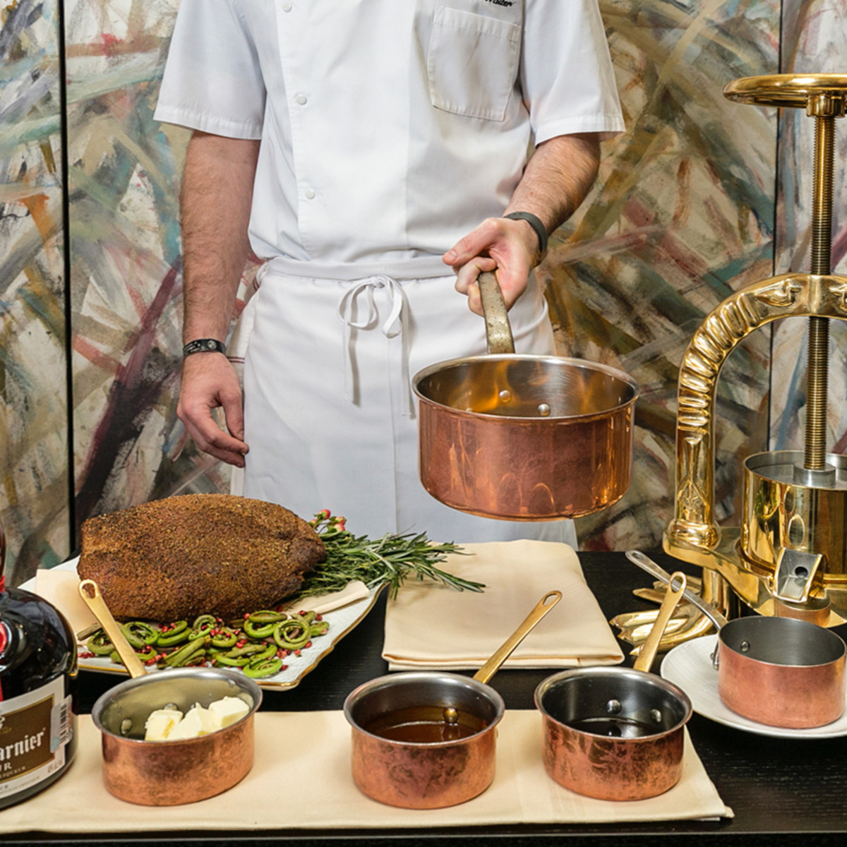 Tony's Austin Waiters duck press