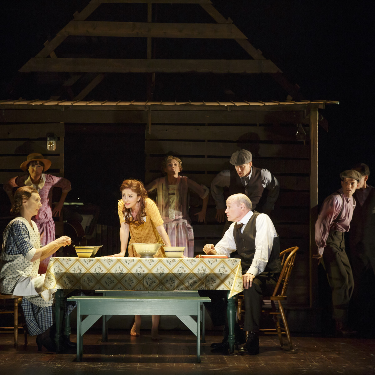 "Original Broadway company of ""Bright Star"""